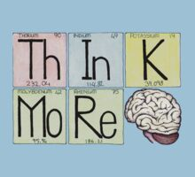 ThInK MoRe by Cartoon Neuron