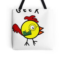 Clever Cock Tote Bag