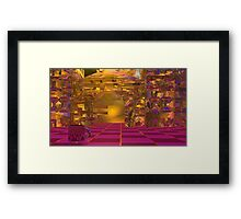 High Tea in the Red Queen's Courtyard  SA Framed Print