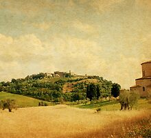 Heavenly Moment in Tuscany-Montalcino by Deborah Downes