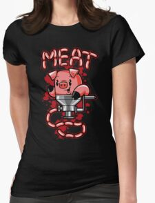 Nice to Meat You! Womens Fitted T-Shirt