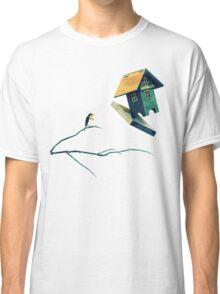 Flying Bird...house Classic T-Shirt