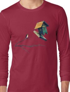 Flying Bird...house Long Sleeve T-Shirt