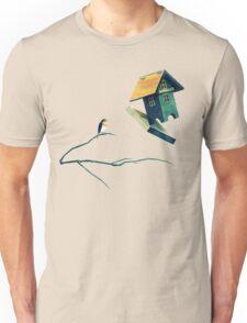 Flying Bird...house Unisex T-Shirt