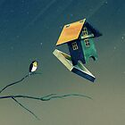Flying Bird...house by schwebewesen