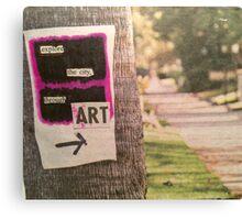 Explore Canvas Print