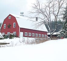 Holiday Barn by Susan R. Wacker
