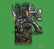 Toa Tom T-Shirt  - Neon by Tom  Rule