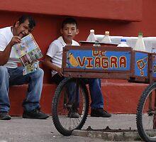 The Miracle Of Hot Mexican Food - El Milagro De Las Picantes Comidas Mexicanas by Bernhard Matejka