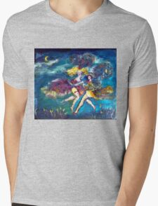 MASQUERADE DANCING  IN THE NIGHT Mens V-Neck T-Shirt