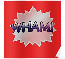 RED WHAM Poster