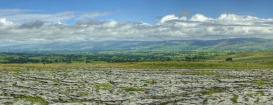 The Northern Pennines From Asby Scar by VoluntaryRanger