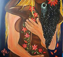 """Forever Yours"" Interracial Lovers Series  by Yesi Casanova"