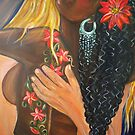 &quot;Forever Yours&quot; - Detail - Interracial Lovers Series by Yesi Casanova