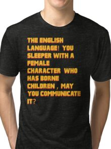 Jules like a sir Tri-blend T-Shirt