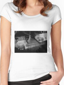 Childs Play Women's Fitted Scoop T-Shirt