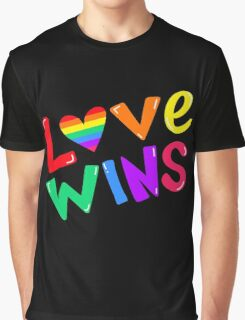Love Wins Graphic T-Shirt