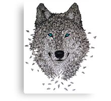 Vector Wolf Canvas Print
