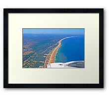 flying..... Framed Print