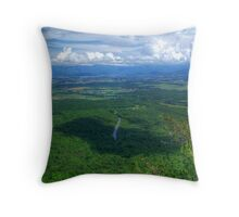 Valley Of The Blue Ridge HDR Throw Pillow