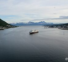 Sailing Through Tromsø by boydhowell