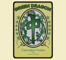 Green Dragon Label by gerrorism