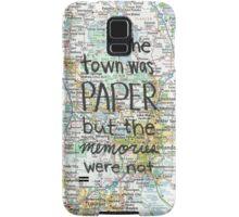 Paper Towns case Samsung Galaxy Case/Skin