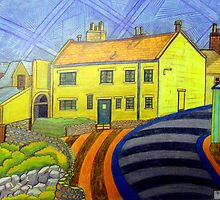 364 - CRASTER REDECORATED - DAVE EDWARDS - COLOURED PENCILS - 2012 by BLYTHART