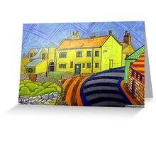364 - CRASTER REDECORATED - DAVE EDWARDS - COLOURED PENCILS - 2012 Greeting Card