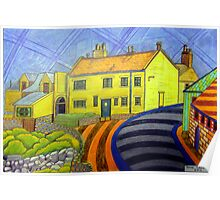 364 - CRASTER REDECORATED - DAVE EDWARDS - COLOURED PENCILS - 2012 Poster