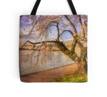 At The The Cherry Blossom Festival Tote Bag