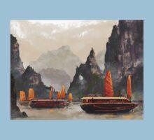 Ha Long Bay One Piece - Short Sleeve