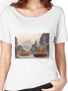 Ha Long Bay Women's Relaxed Fit T-Shirt
