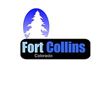 fort collins Colorado t shirt truck stop novelty Photographic Print