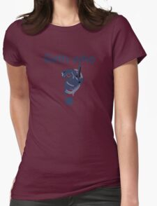 Geth who? Womens Fitted T-Shirt