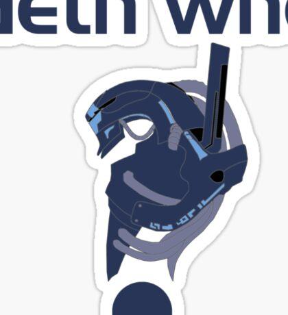 Geth who? Sticker