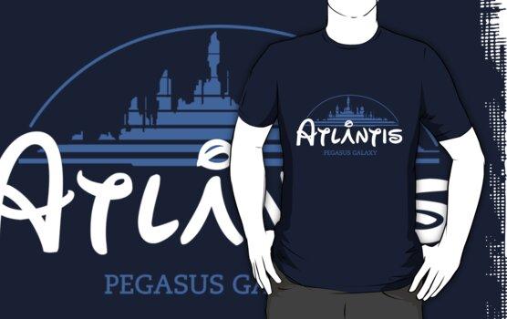 The Wonderfull City of Atlantis (Stargate) by girardin27