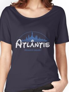The Wonderfull City of Atlantis (Stargate) Women's Relaxed Fit T-Shirt