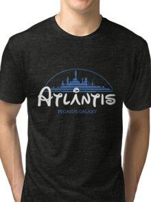 The Wonderfull City of Atlantis (Stargate) Tri-blend T-Shirt