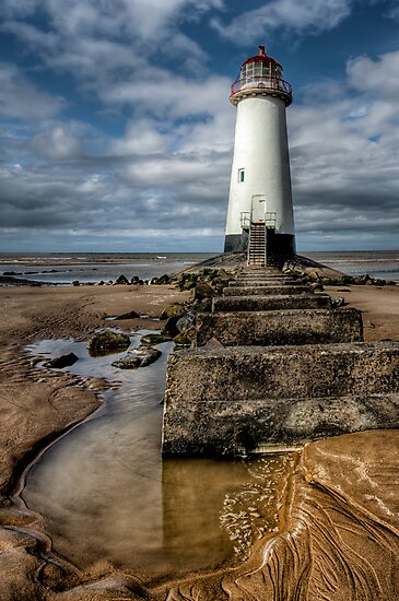 Lighthouse Steps by Adrian Evans