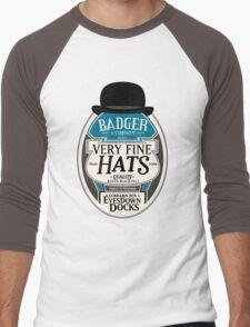 Badger's Very Fine Hats Men's Baseball ¾ T-Shirt