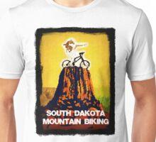 South Dakota Mountain Biking Unisex T-Shirt