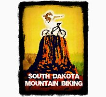 South Dakota Mountain Biking Unisex T-Shirt