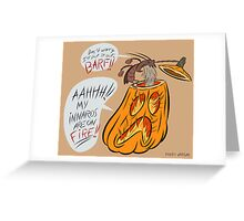"""Put it Out!"" Halloween Photo Print & Matted Print Greeting Card"