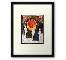 Universe Review Panel Framed Print