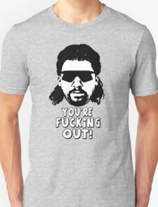 """Kenny Powers """"You're Fucking Out!"""" Unisex T-Shirt"""