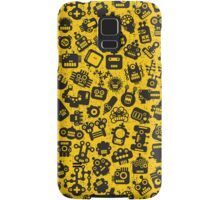 Yellow. Robots. Samsung Galaxy Case/Skin