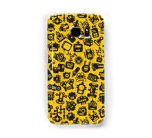 Yellow. Robots. Samsung Galaxy Case/Skin