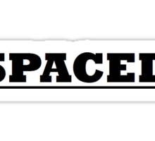 Spaced Sticker