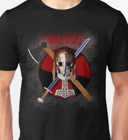 VIKING – Shield Skull Unisex T-Shirt